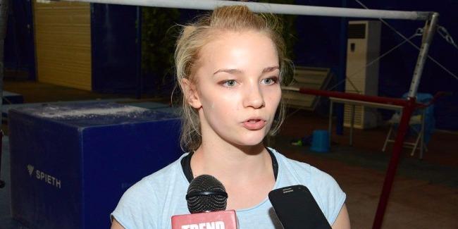 Азербайджанские гимнастки ждут от болельщиков еще большей поддержки