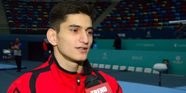 Большое количество конкурентов не должно мешать достойно выступить - азербайджанский гимнаст