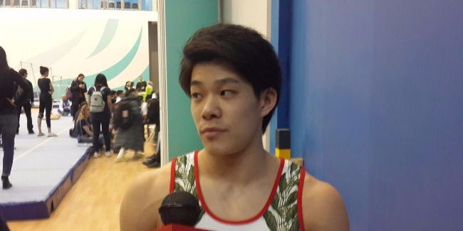 FIG World Cup in Baku – colorful show: Japanese gymnast