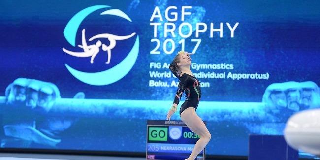 Azerbaijani gymnast wins bronze at FIG World Cup
