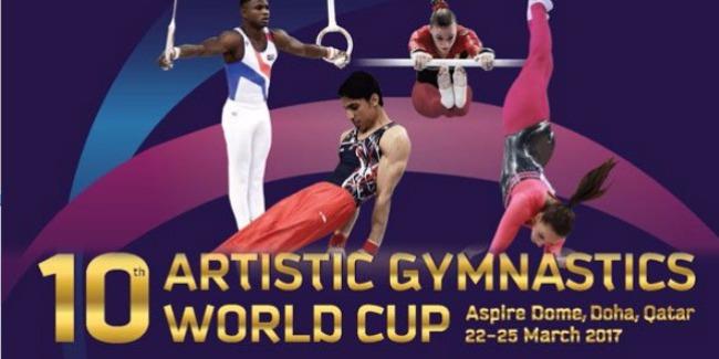 Dohada idman gimnastikası üzrə növbəti Dünya Kuboku yekunlaşdı