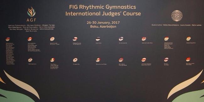 Names of Azerbaijani Rhythmic Gymnastics judges with FIG Brevet announced