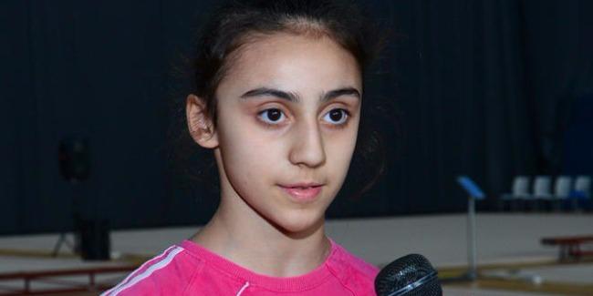 Поддержка зрителей мне очень помогла выступить хорошо - азербайджанская гимнастка