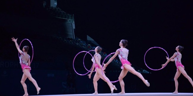İtaliya yığması Bakıda bədii gimnastika üzrə Dünya Kubokunda birinci yeri tutdu
