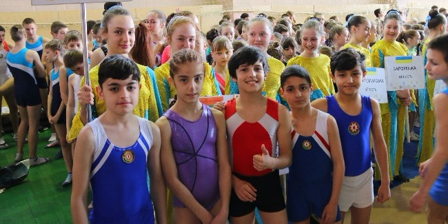 3 gold medals from young tumbling gymnasts
