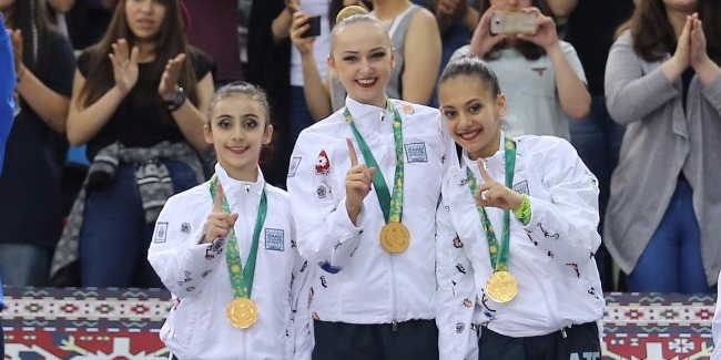 First award – Gold medal