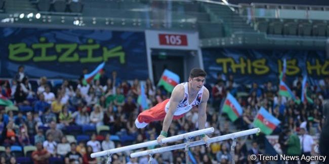 Azerbaijani athletes reach artistic gymnastics finals at Baku 2017