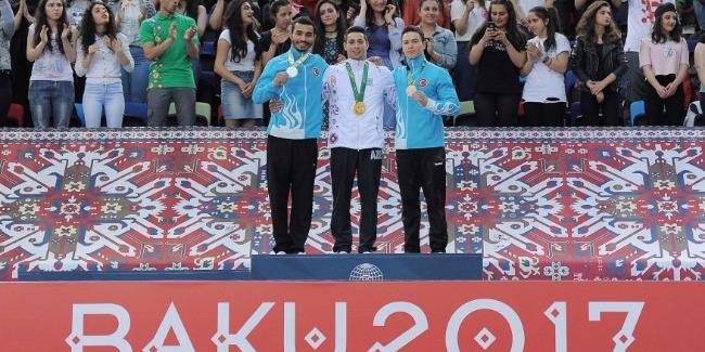 İdman gimnastlarımızın İslamiadada parlaq zəfəri: 5 qızıl, 5 gümüş və 2 bürünc medal