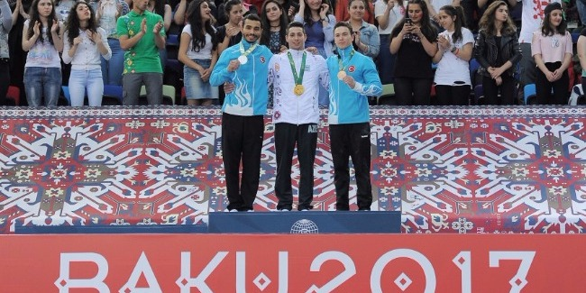 The brilliant victory of our gymnasts in the Islamic Games: 5 gold, 5 silver and 2 bronze medals