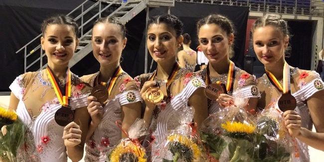 Турнир в Берлине принес удачу наши гимнасткам
