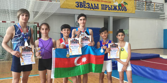 Our jumpers compete in the Russian Open Tournament