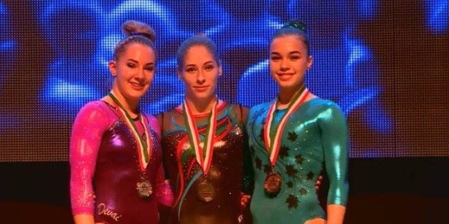 Marina Nekrasova's Gold medal
