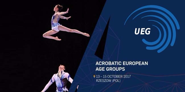 Our acrobats are in the final of the European Age Group Competitions