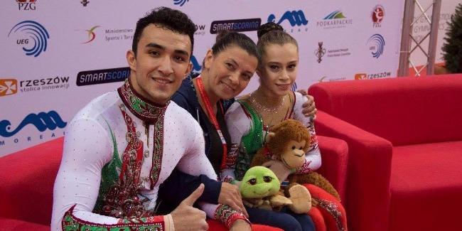 The European Championships' Bronze medal belongs to the Azerbaijani acrobats