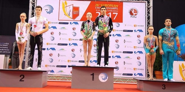 Another Bronze Medal from our Aghasif and Nurjan Mixed Pair