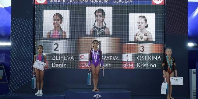 Birgə gimnastika yarışlarında qaliblər müəyyənləşdi