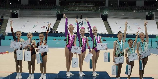 Завершились 4-х дневные соревнования по гимнастике