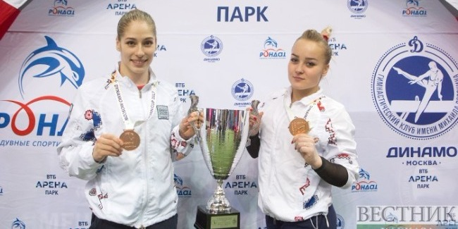 Our gymnasts win three medals at the international tournament