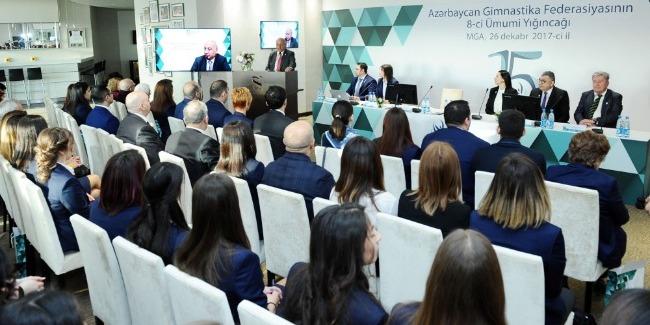 Azərbaycan Gimnastika Federasiyasının VIII ümumi yığıncağı keçirilib