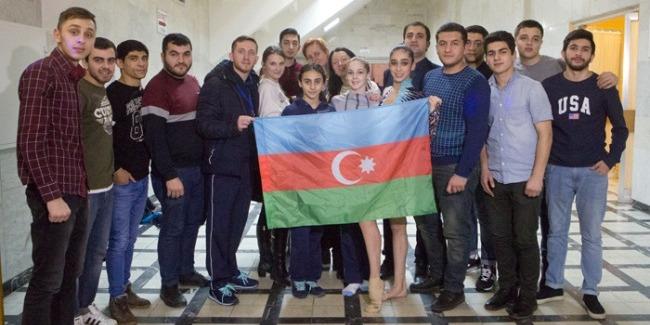 Bədii gimnastımız Gənclər arasında Olimpiya Oyunlarına lisenziyanı təmin etdi