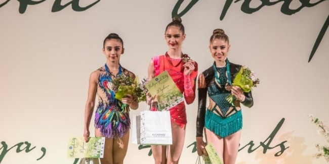 Rhythmic gymnasts returned home with 4 medals