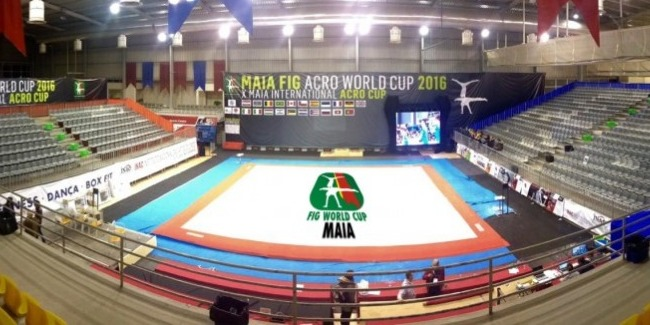 Our acrobats took part at World Cup in Maia