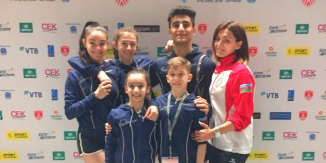 Our acrobats finished their performances at World Age Group competitions