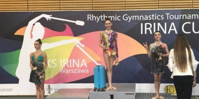 Our rhythmic gymnasts win two medals at the international tournament
