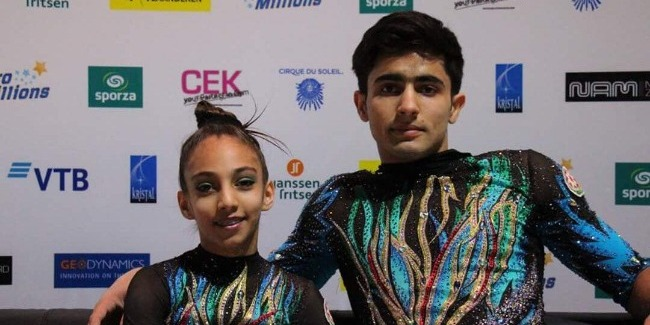 Our acrobats became fourth at the World Championship