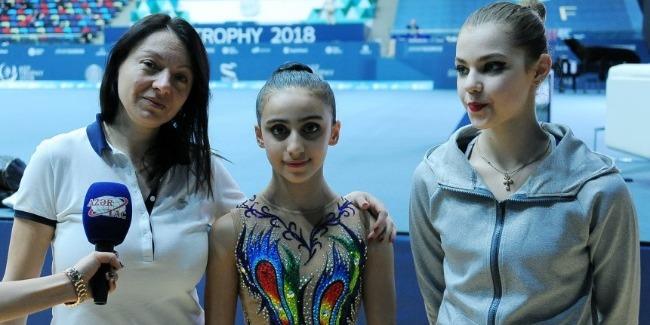 Mariana Vasileva: Azərbaycanda gimnastika üzrə turnirlərin təşkilatçılığı ən yüksək səviyyədədir