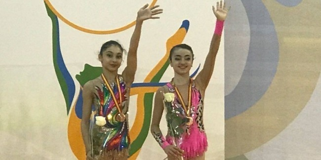 Success of our junior gymnasts is going on