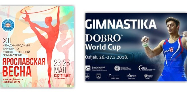 The performances of our gymnasts at the international competitions come to an end