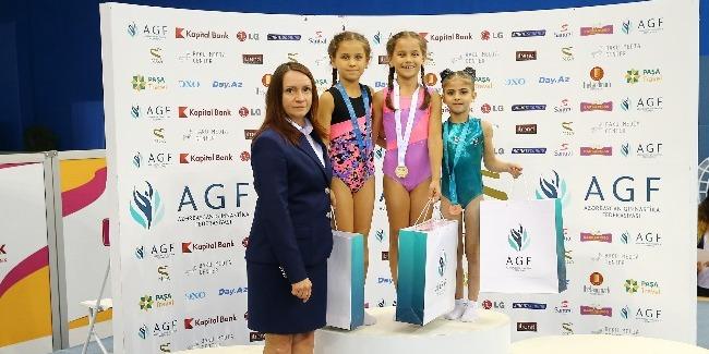 İdman gimnastikası üzrə Azərbaycan Birinciliyi və Bakı Çempionatında qaliblər müəyyənləşdi