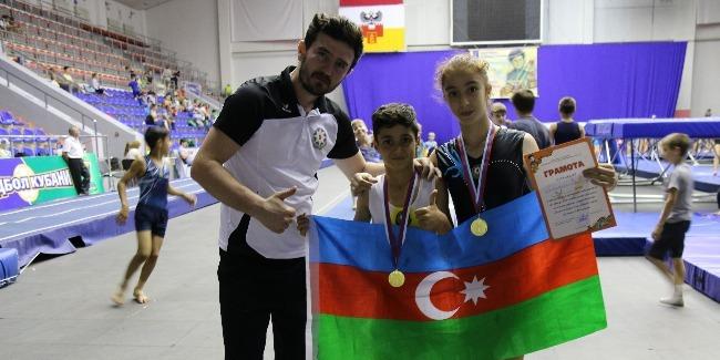 Tamblinqçilərimiz Ümumrusiya yarışlarından medallarla qayıdıb