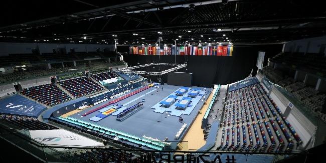 Baku hosts the World Championships in Trampoline Gymnastics
