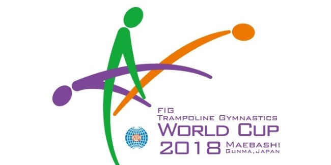 Our Trampoline gymnasts perform at the World Cup