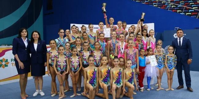 The Azerbaijan Championship and the Baku Championship among age groups in Rhythmic Gymnastics comes to an end