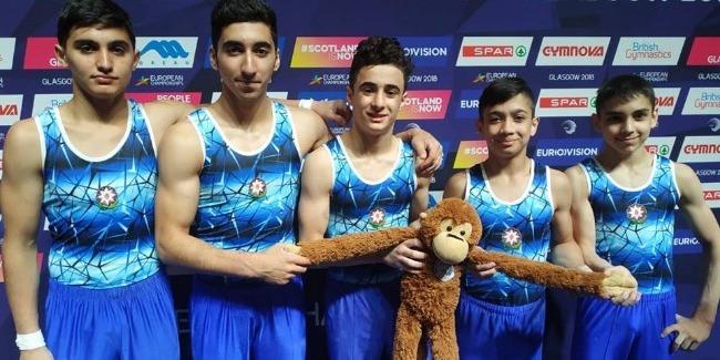İdman gimnastikası üzrə Avropa Çempionatı yekunlaşdı