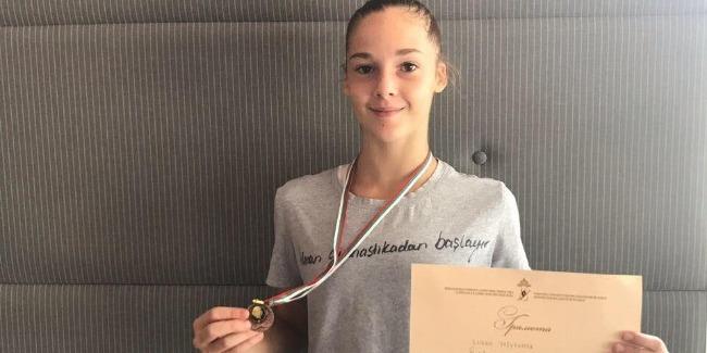 Our Rhythmic Gymnast`s Bronze Medal