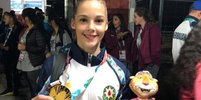 Yelizaveta Luzan Yeniyetmələrin Olimpiya Oyunlarında qızıl medal qazandı