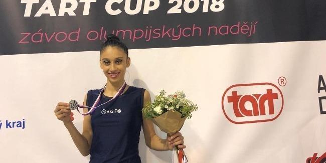 Fatima Akbarova wins the Silver medal in the International Tournament
