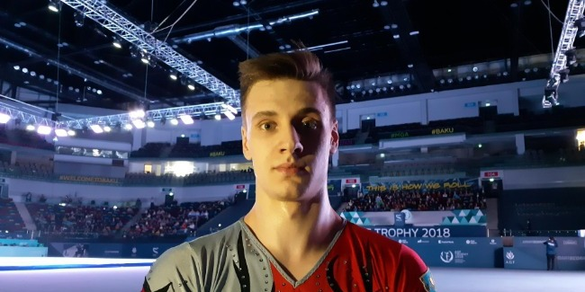 Qazaxıstan idmançısı: Bakıda akrobatika gimnastikası üzrə Dünya Kubokunun belə böyük arenada keçiriləcəyini gözləmirdim