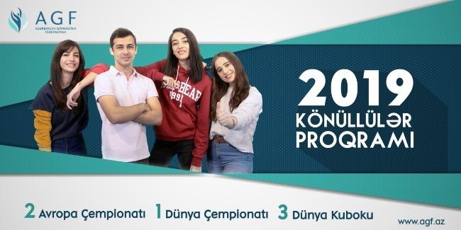 """""""Könüllülər Proqramı - 2019"""""""
