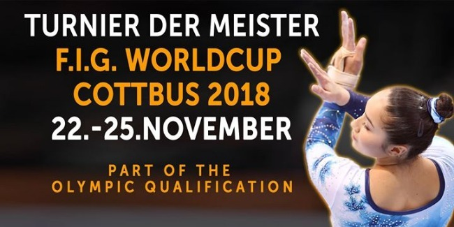 Our artistic gymnasts perform at the World Cup