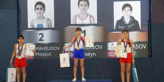 Gimnastika üzrə ilin son yarışı keçirildi