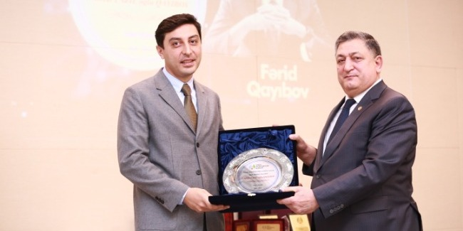 """Farid Gayibov is selected as """"Sports figure of the Year"""""""