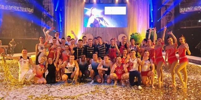 "Azerbaijani gymnasts perform at ""GymGala"" show"