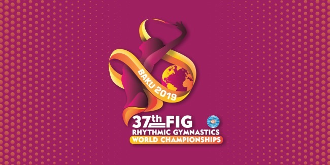 The Logo of FIG World Championships in Rhythmic Gymnastics is approved