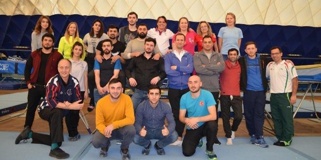 Объявлены результаты курсов по прыжкам на батуте Академии FIG