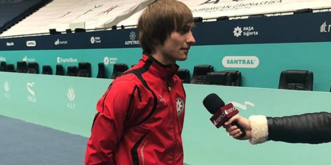 To perform in hometown is always more difficult and responsible, gymnast Mikhail Malkin